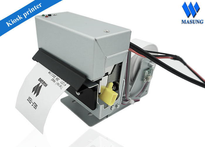Auto Paper Cutting 58 mm Kiosk Ticket Printers For  Gas Pump Station